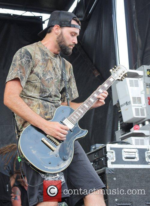 Veara performs during the 2011 Vans Warped Tour...