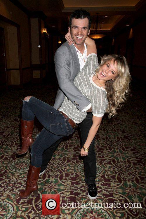 Chelsie Hightower and Tony Dovolani from 'Dancing with...