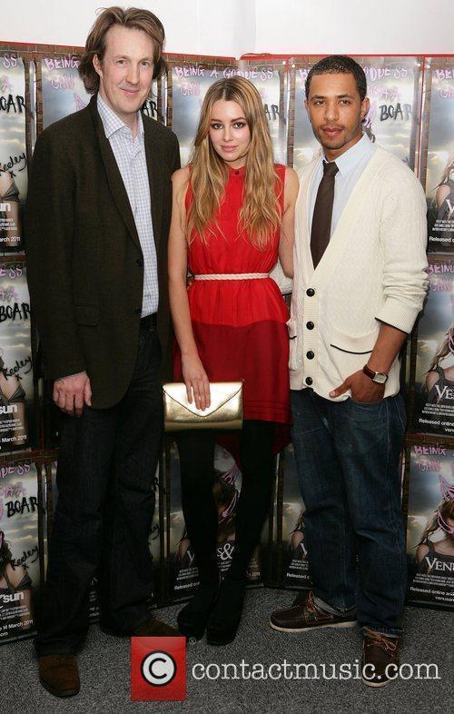 Will Smith, Keeley Hazell and Ukweli Roach at...
