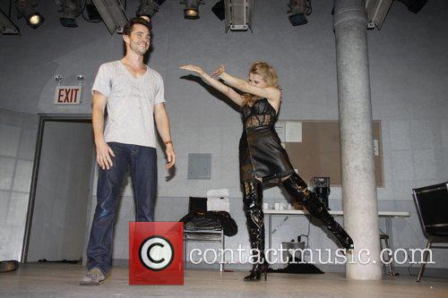 Hugh Dancy and Nina Arianda  Opening night...