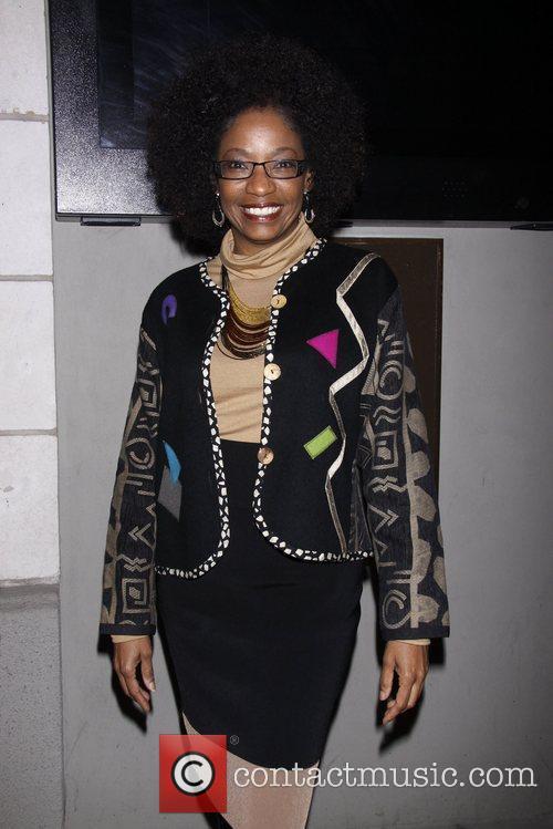 Adriane Lenox  Opening night of the Manhattan...