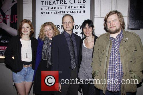 Opening night of the Manhattan Theatre Club production...