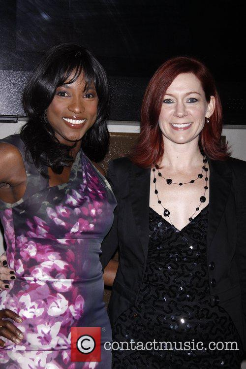 Rutina Wesley and Carrie Preston  Opening night...