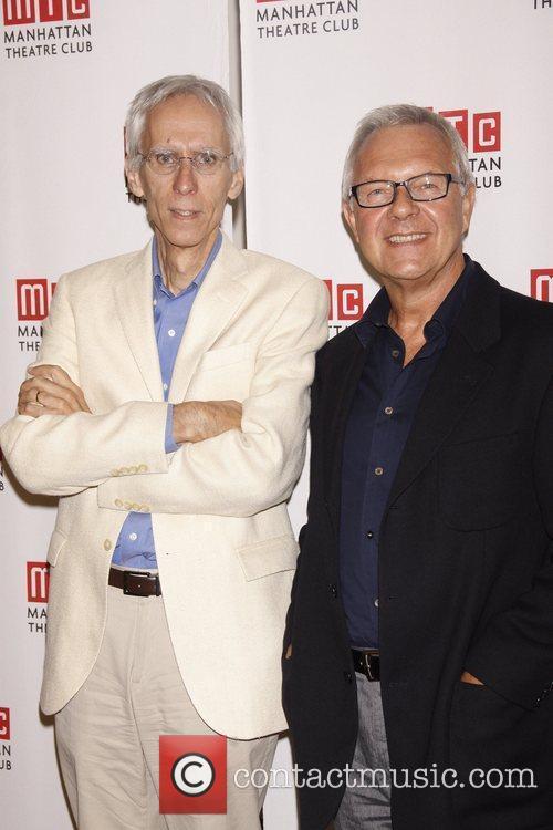 David Ives and Walter Bobbie Meet and greet...