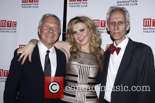 Walter Bobbie, Nina Arianda and David Ives...