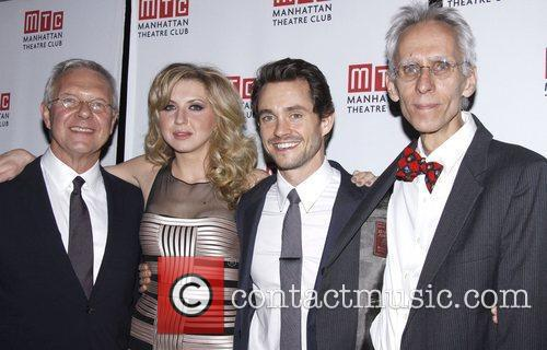 Walter Bobbie, Nina Arianda, Hugh Dancy and David...