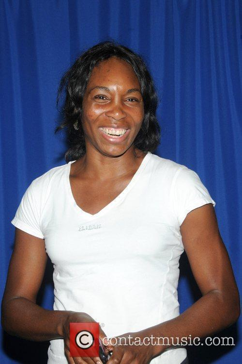 Venus Williams and her team the Washington Kastles...