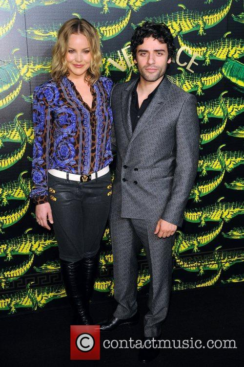 Abbie Cornish Versace for H&M Fashion Show and...