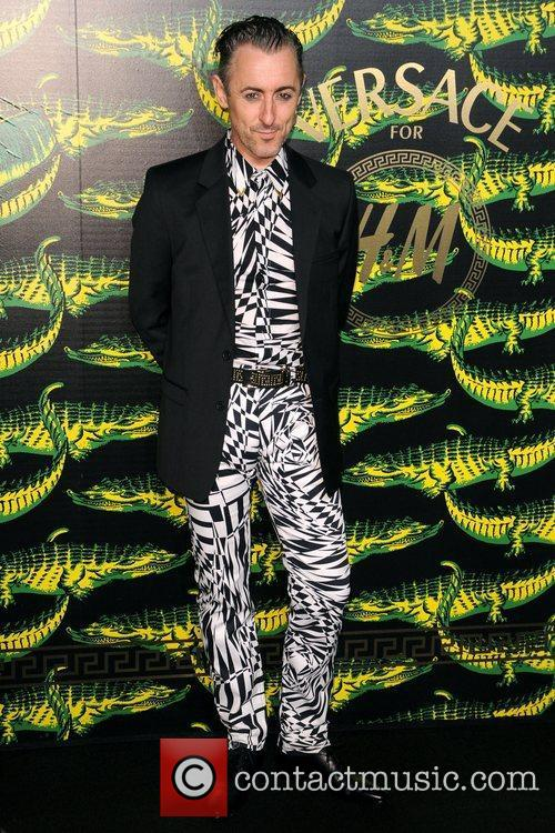 Alan Cumming Versace for H&M Fashion Show and...