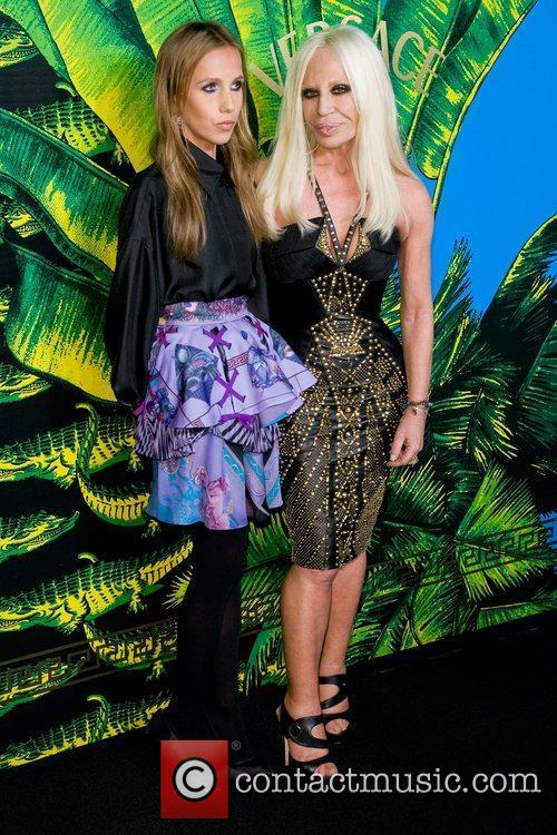 Versace and Donatella Versace 2