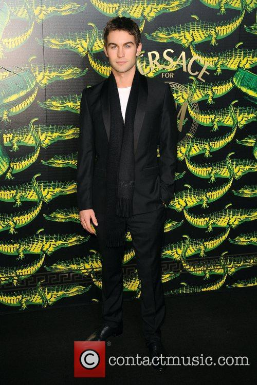 Chace Crawford Versace for H&M Fashion Show and...