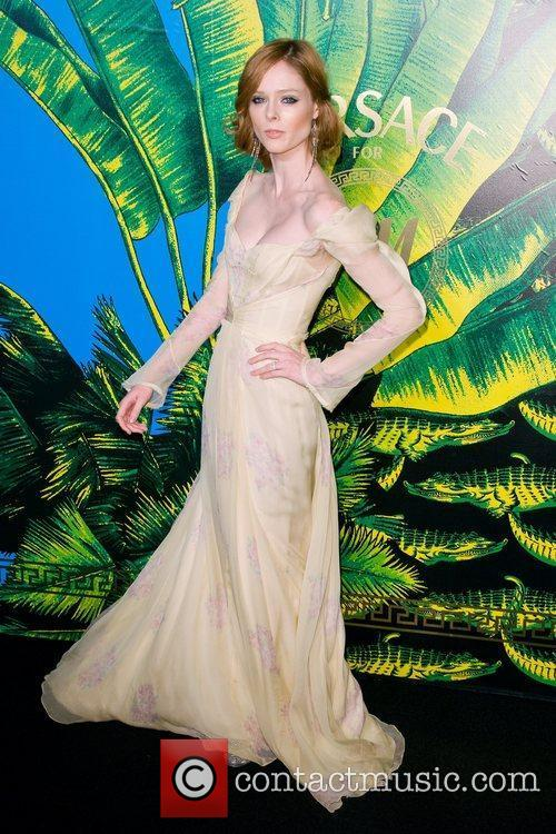 Coco Rocha Versace for H&M Fashion Show and...