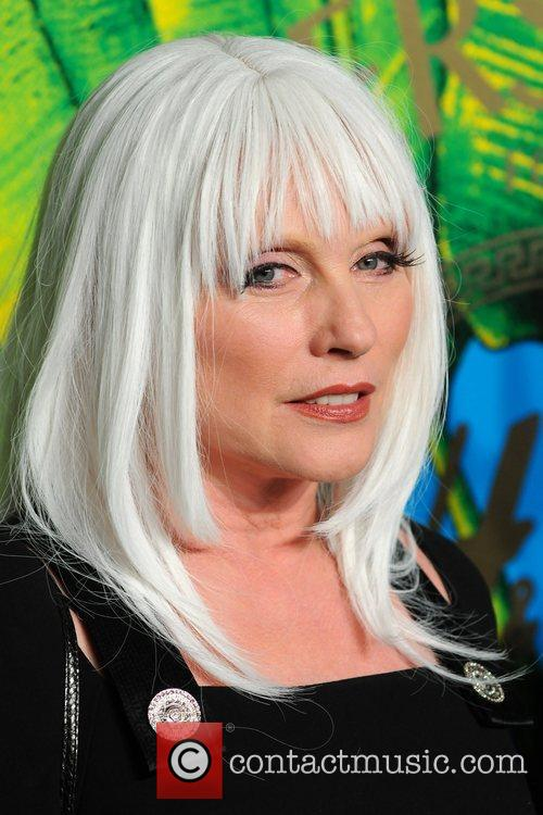 Debbie Harry Versace for H&M Fashion Show and...