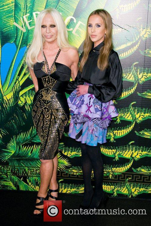 Donatella Versace and Emma Roberts 10