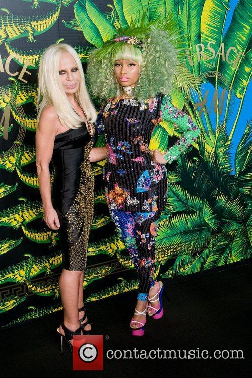 Donatella Versace and Nicki Minaj 4