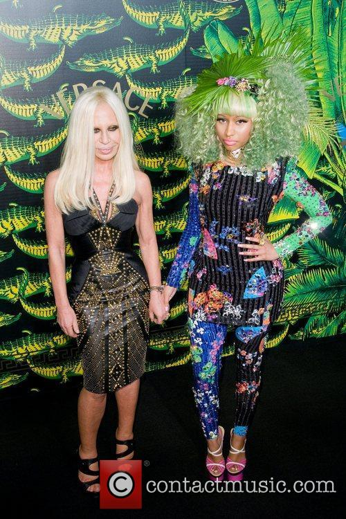 Donatella Versace and Nicki Minaj 5