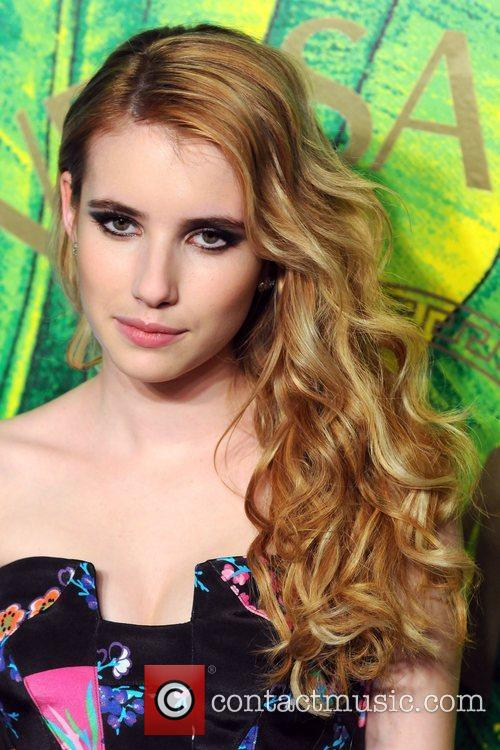 Emma Roberts Versace for H&M Fashion Show and...