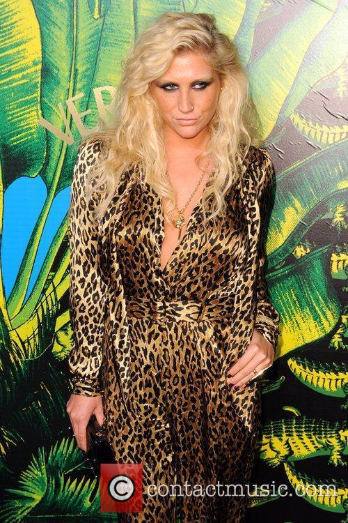 Kesha Versace for H&M Fashion Show and Party...