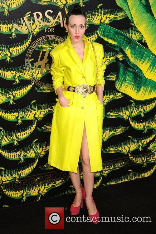 Michelle Harper Versace for H&M Fashion Show and...