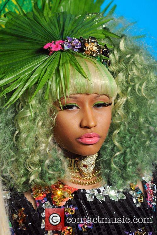 Nicki Minaj Versace for H&M Fashion Show and...