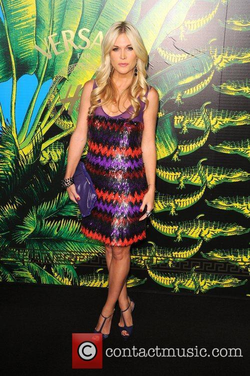 Tinsley Mortimer Versace for H&M Fashion Show and...