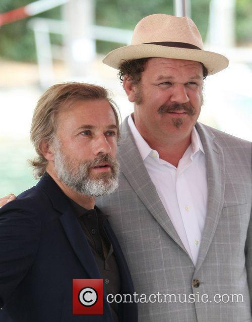 John C Reilly and Christoph Waltz 1