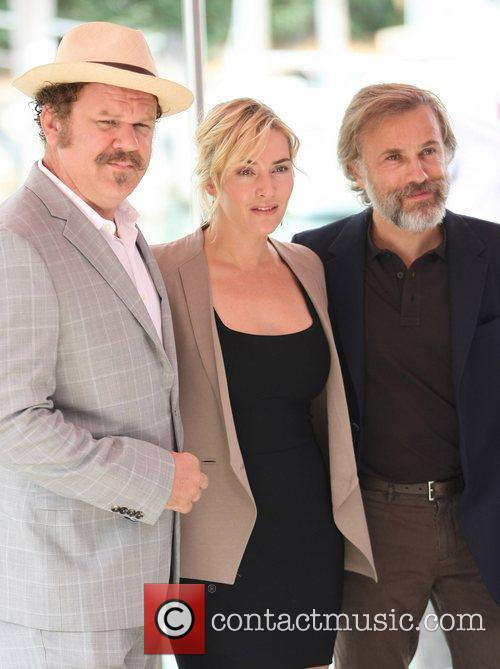 John C Reilly, Christoph Waltz and Kate Winslet 4