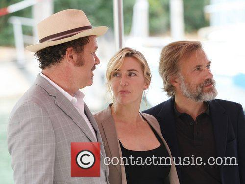 John C Reilly, Christoph Waltz and Kate Winslet 5