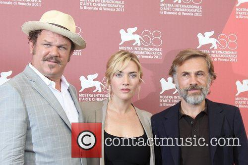 John C Reilly, Christoph Waltz and Kate Winslet 9