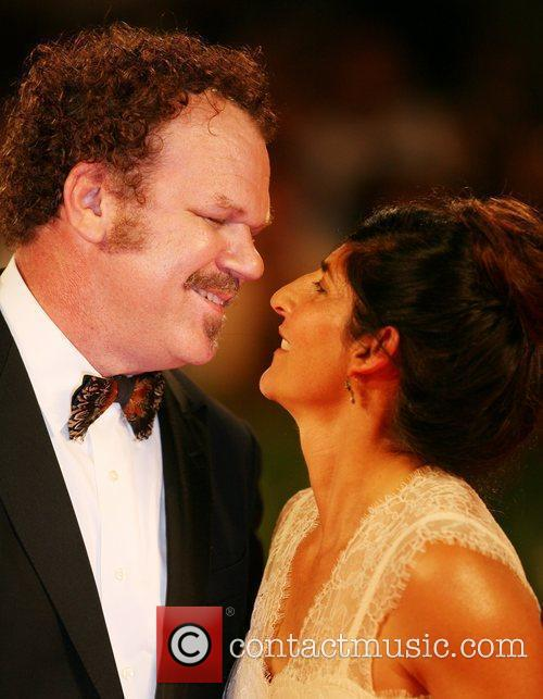 John C. Reilly and wife Alison Dickey The...