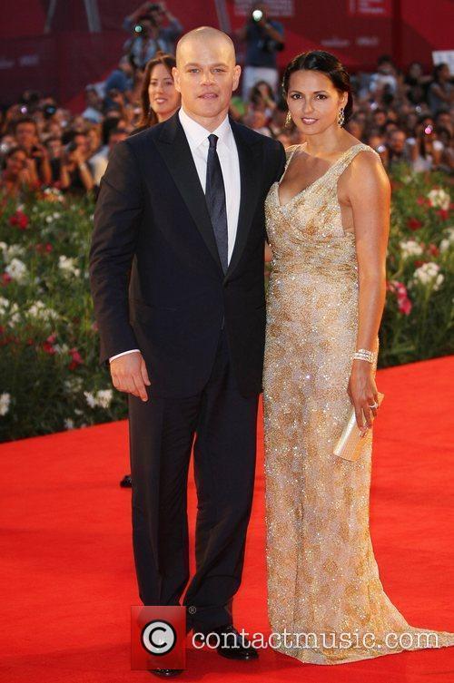 Matt Damon, Luciana Barroso, Venice Film Festival