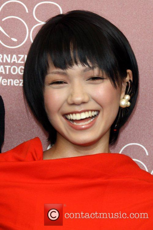Actress Fumi Nikaidou The 68th Venice Film Festival...