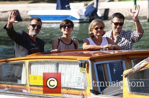 Thomas Trabacchi, Claudia Pandolfi, Cristina Comencini and Filippo...