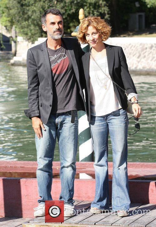 Thomas Trabacchi and Carlotta Natoli The 68th Venice...