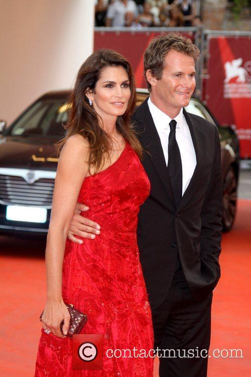 Cindy Crawford and Rande Gerber 68th Venice Film...