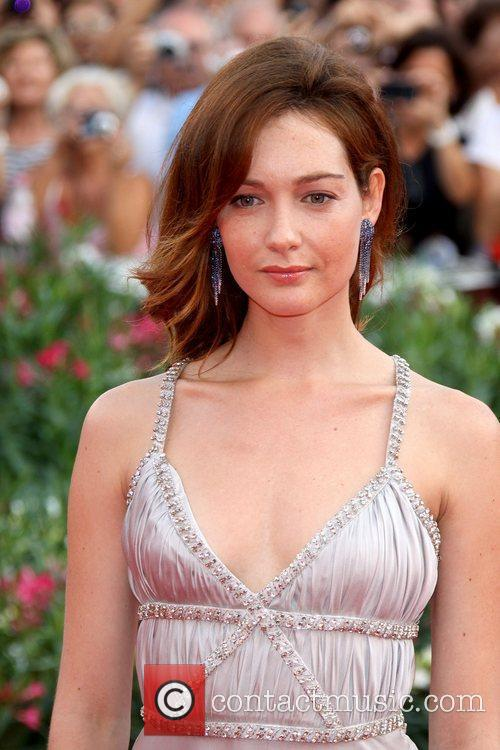 Model Cristiana Capotondi 68th Venice Film Festival -...