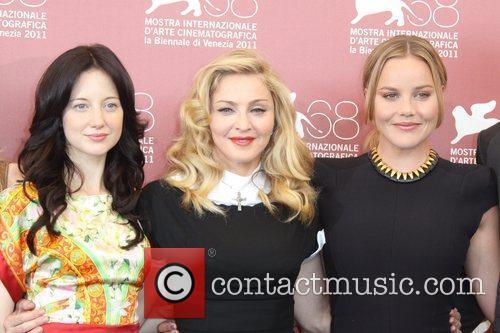 Andrea Riseborough, Abbie Cornish and Madonna 3