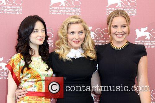 Andrea Riseborough, Abbie Cornish and Madonna 5