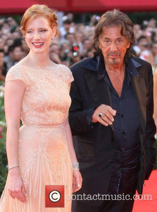 Jessica Chastain and Al Pacino  The 68th...