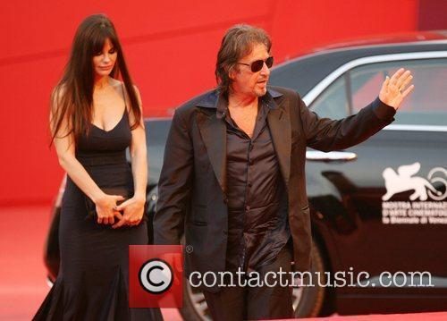 Lucila Sola and Al Pacino The 68th Venice...
