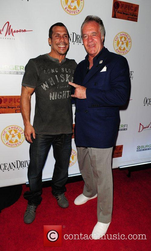 Danny Wood and Tony Sirico The Grand Opening...