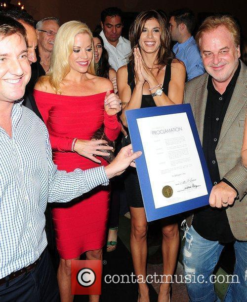 Elisabetta Canalis, David Manero and Guests The Grand...