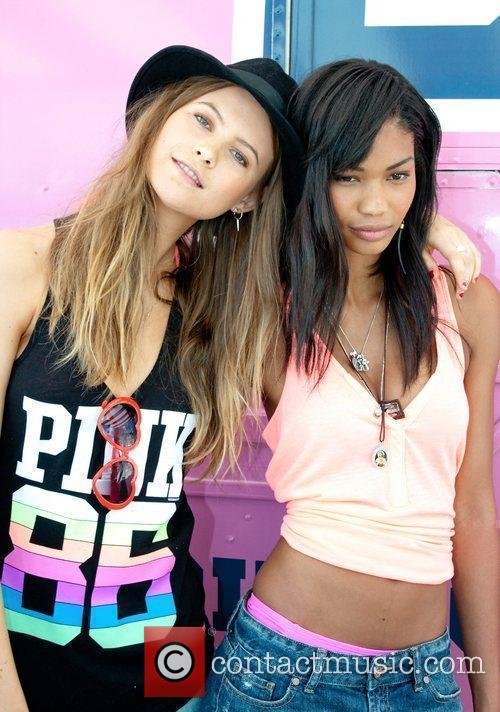 Behati Prinsloo, Chanel and Iman 9