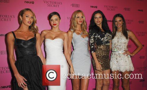 Miranda Kerr, Adriana Lima, Alessandra Ambrosio and Erin Heatherton 3
