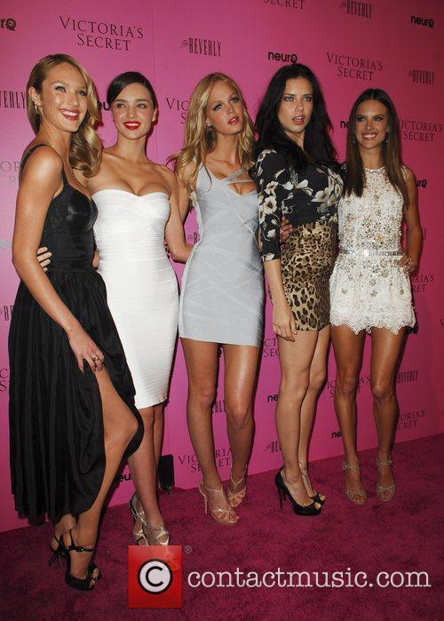 Miranda Kerr, Adriana Lima, Alessandra Ambrosio and Erin Heatherton 2