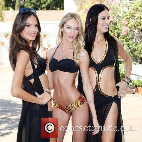 Alessandra Ambrosio and Adriana Lima 9