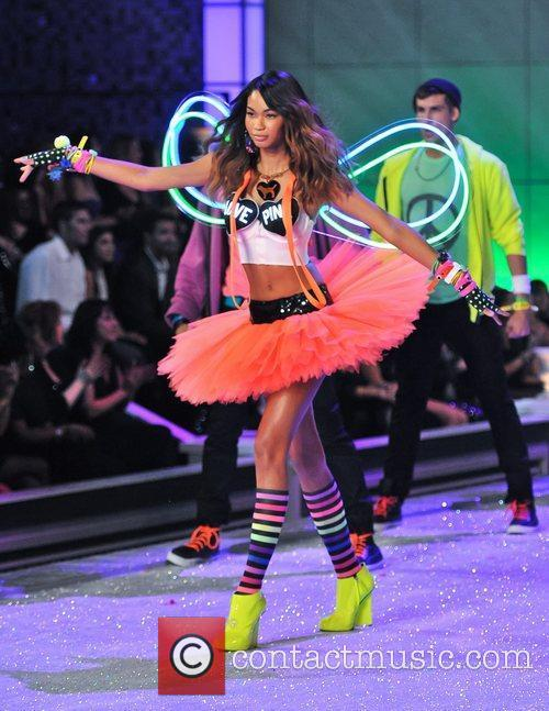 Chanel Iman and Victoria's Secret 5