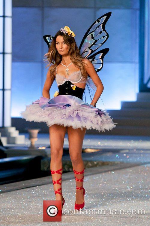 Lily Aldridge and Victoria's Secret 2