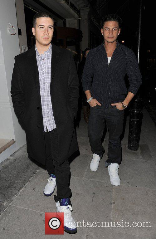 Vinny Guadagnino and DJ Pauly D aka Paul...