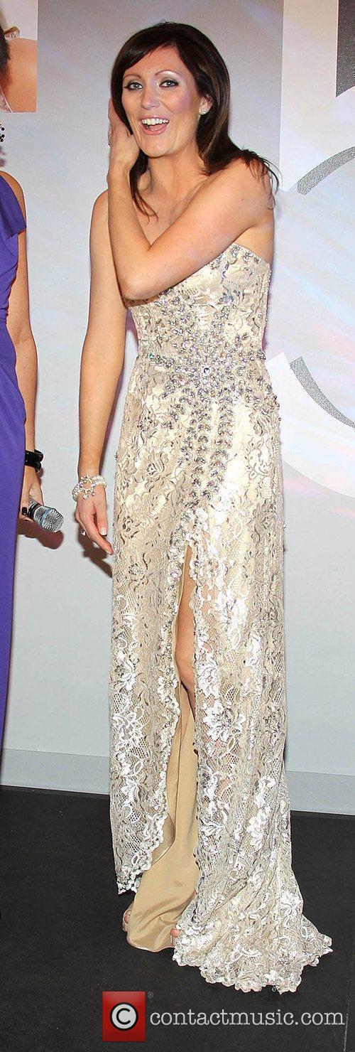 Georgina Byrne VIP Style Awards at the Shelbourne...